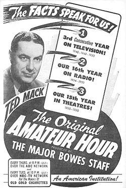 Amateur hour productions