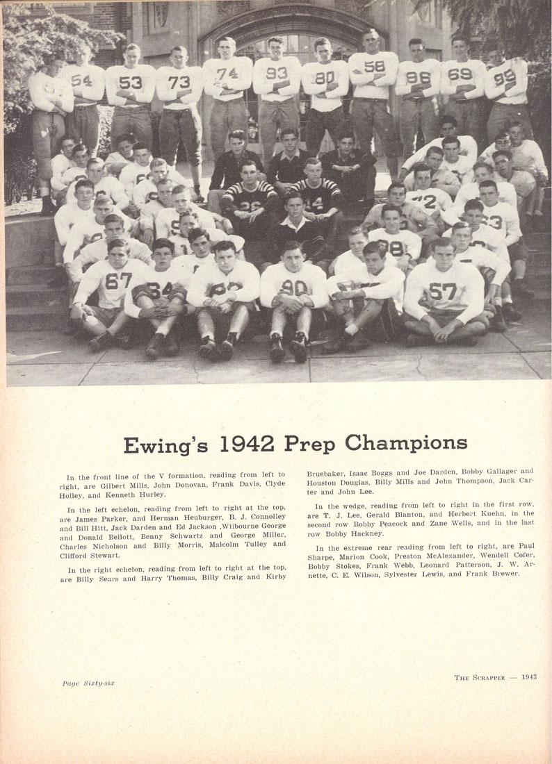 33 12 50 20 >> Memphis Southside High School - 1943